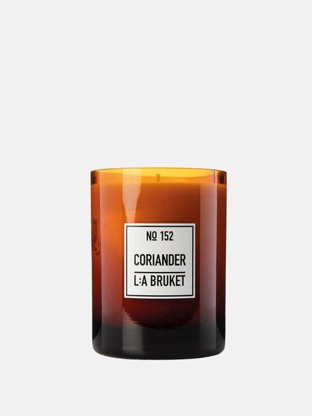 L:A BRUKET Coriander 152 Scented Candles