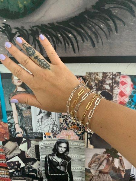 Sierra Winter Jewelry Hank Bracelet - Gold Vermeil