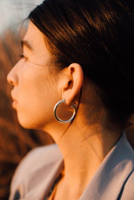 Sierra Winter Jewelry Roundup Hoop Earrings - Sterling Silver