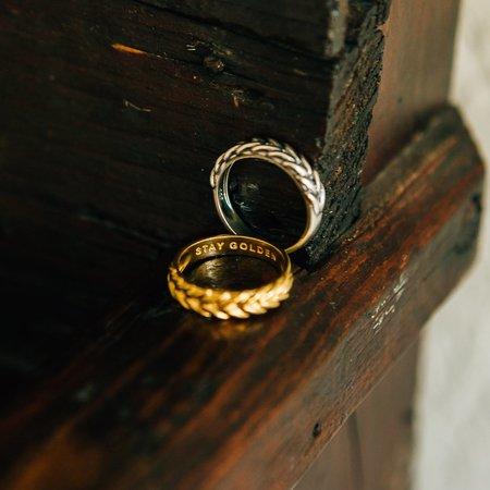 Sierra Winter Jewelry Stay Golden Ring - Gold Vermeil