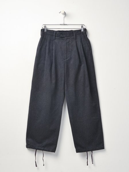Engineered Garments Emerson Wool Cotton Flannel Pant - Grey