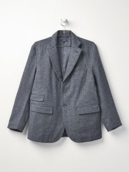 Engineered Garments Lawrence Wool  Jacket - Grey Glen Plaid Stripe