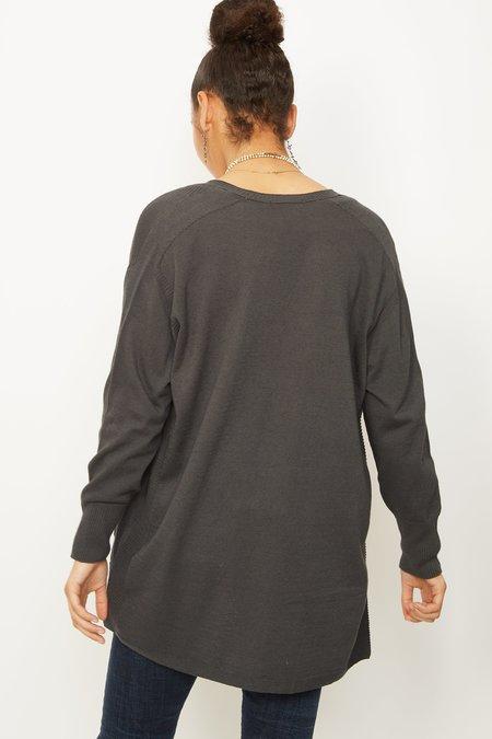 PAS DE CALAIS Knit 2141 Cardigan - Black