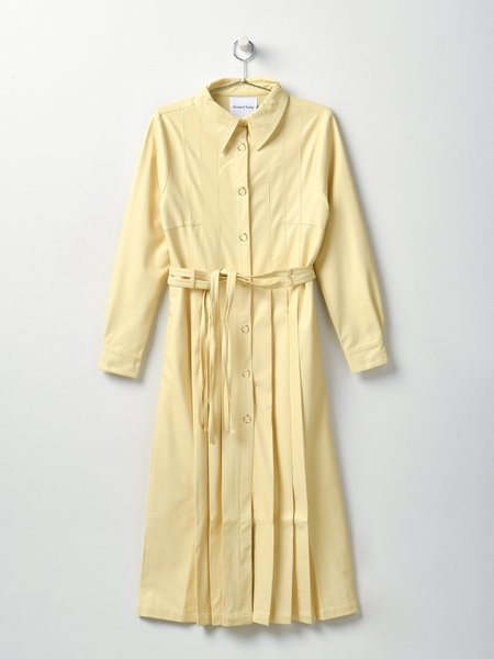 House Of Sunny Perennial Shirt Dress - Blonde