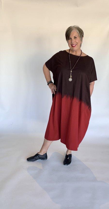 Mmē Moyuru Knit Dress - Ombre Dye