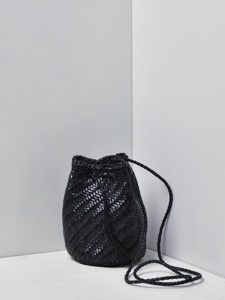 Dragon Pompom Double Jump Bag - Black