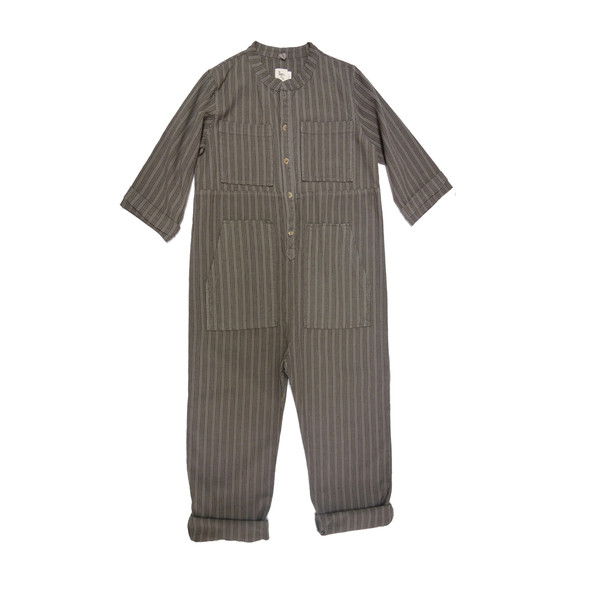 nico nico Saturn Striped Jumpsuit