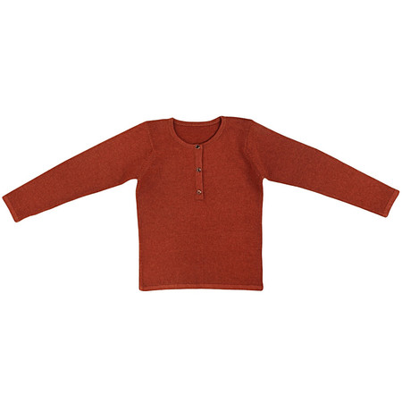 Kids Ketiketa Tunisian Sweater - Burnt Orange