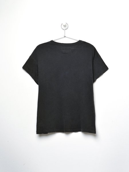The Great. THE BOXY CREW top - WASHED BLACK