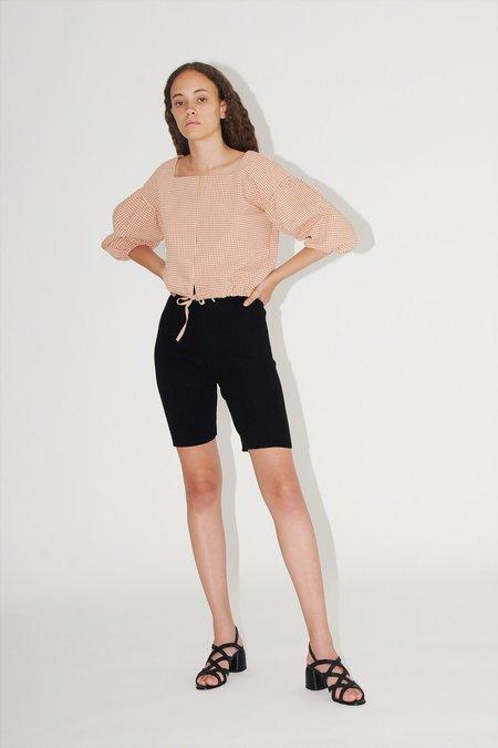 Diarte Canoa Knit Bike Shorts - Black