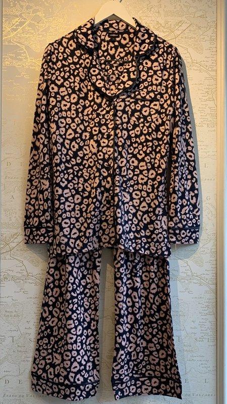 Cosabella Bella Printed Long Sleeve Top & Pant Pajamas