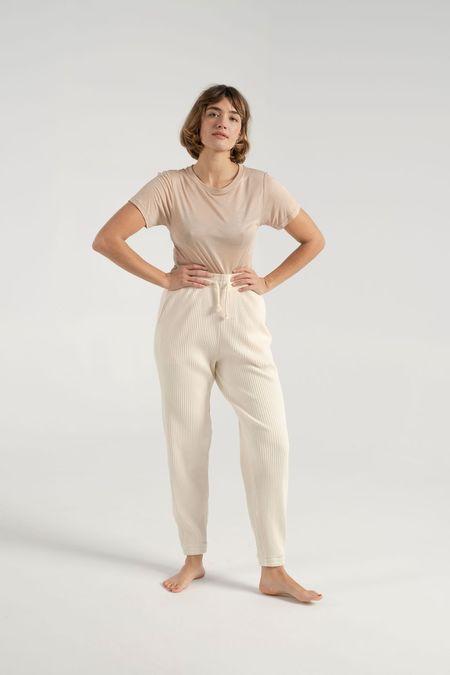 Baserange Sweatpants - Off White