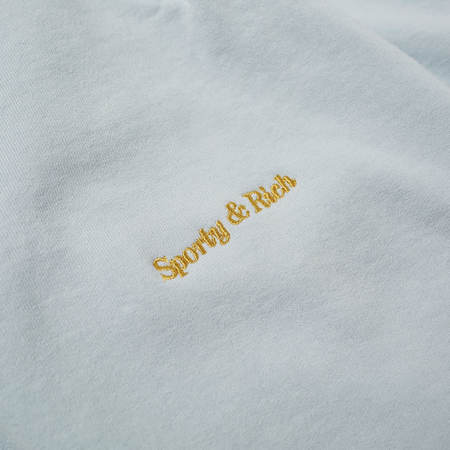 Sporty & Rich Classic Logo Sweat Pant - Baby Blue