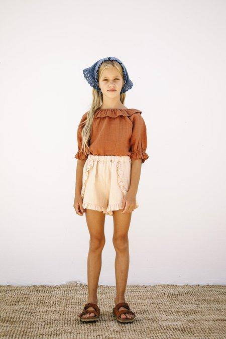 Kids Liilu Oana Blouse - Toffee