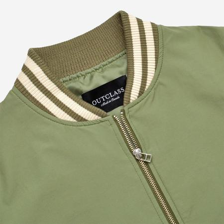 Outclass Water Repellent Bomber Jacket - Sage