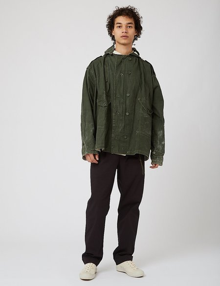 Puebco Cotton Q-1 Hooded Jacket - Green