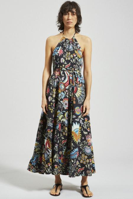 Rachel Comey Sazerac Dress - Black Floral