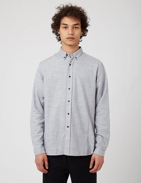 Oliver Spencer Brook Shirt - Bookham Stone