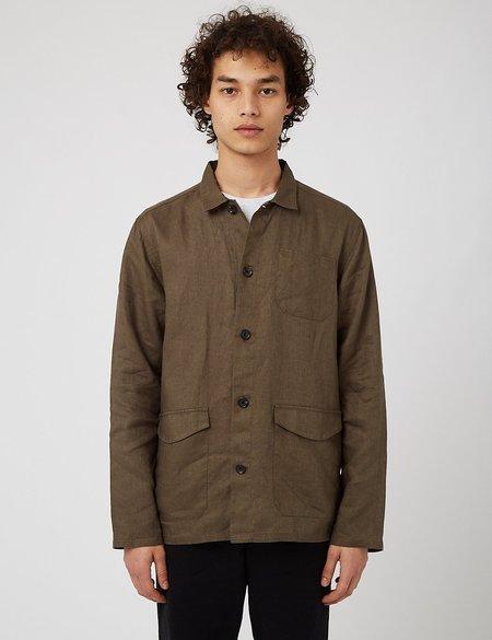 Oliver Spencer Hockney Shirt Jacket - Bridford Green