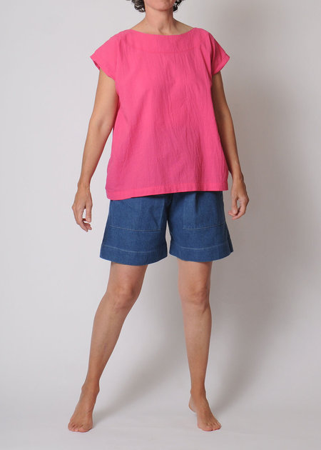 Uzi NYC Tunic - Hot Pink