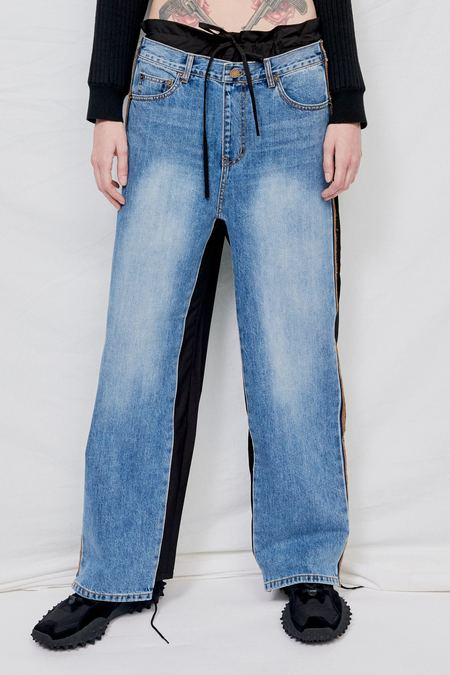 Theopen Product Cotton Front Jeans Pants