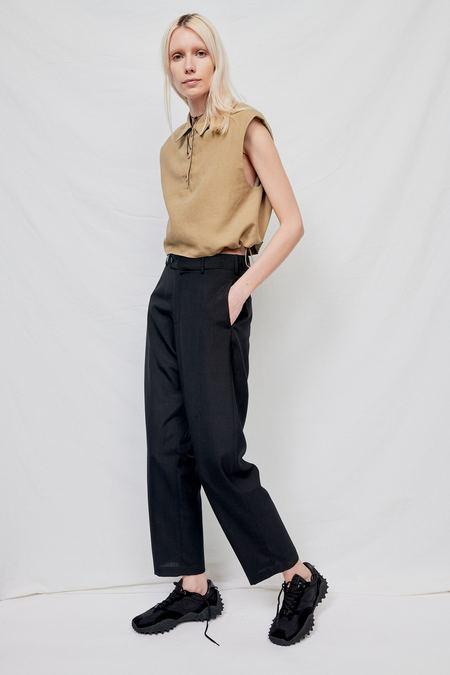 WNDERKAMMER Point Collar Shirt - Khaki