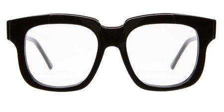 Kuboraum K25 Sunglasses - Black Shine