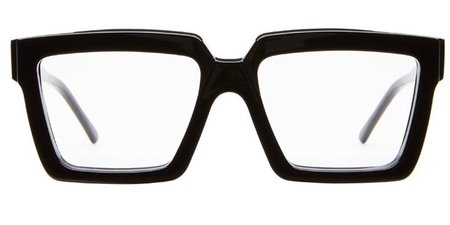 Kuboraum K26 Sunglasses - Black Shine