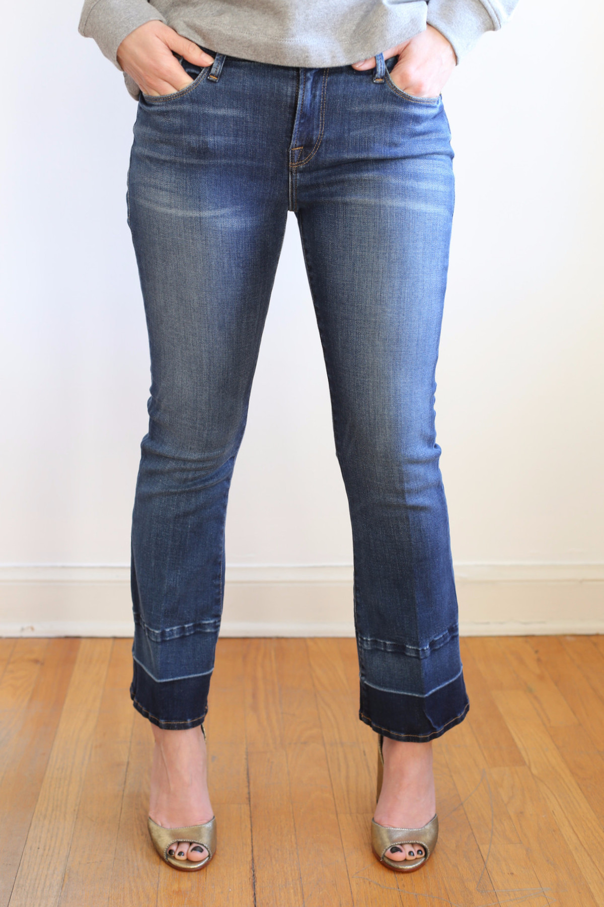 Discount Latest Collections Cheap Wholesale Le Crop Mini Boot jeans - Blue Frame Denim Inexpensive Discount Wide Range Of cgLpoc8J