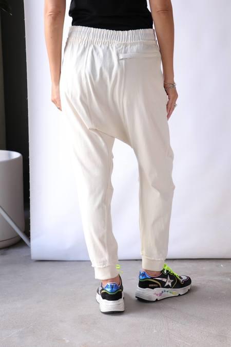 R13 Harem Sweatpant - Dirty White