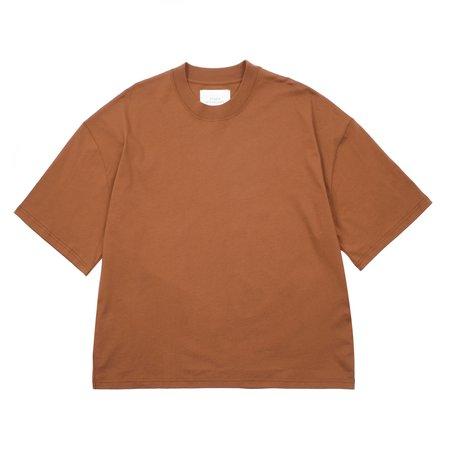 Studio Nicholson Piu T-shirt - Truffle