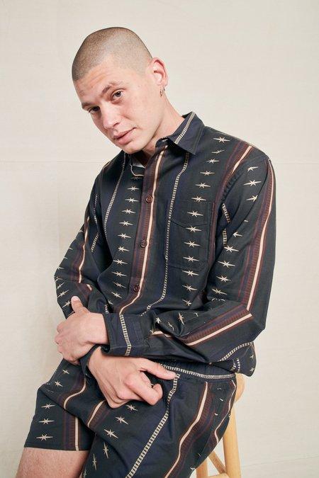 PHIPPS Long Sleeve Classic Shirt - RODEO STRIPE