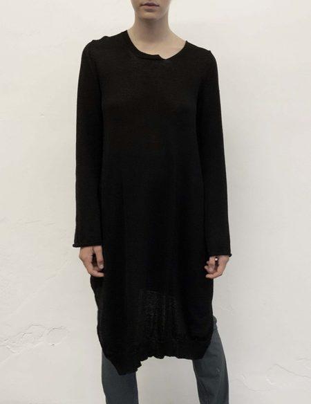 Serien°umerica Long Sleeve Tunic - Black