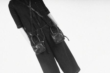 Serien°umerica Mini Bowler Bag - Black