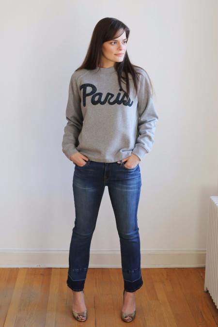 Samsoe Samsoe Aphia Paris O-Neck Sweatshirt