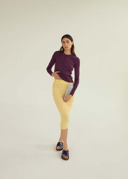 permanent vacation Ritual Tube Skirt - Yellow