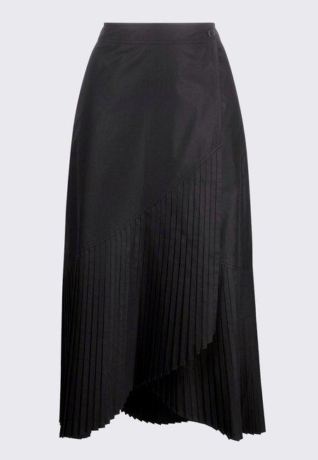 Henrik Vibskov Blaze Plissé Skirt - Black