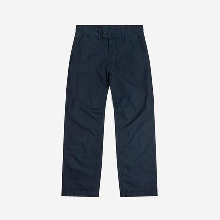 Albam Relaxed Taper Chino - Ripstop Navy