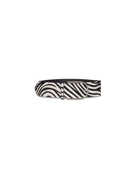 IRO Tumba Belt - White Zebra