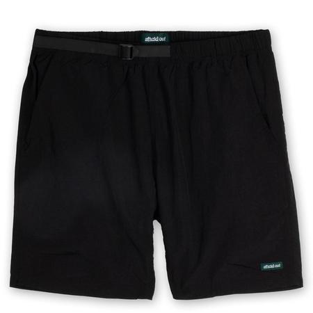 afield out Nylon Climbing Shorts - Black