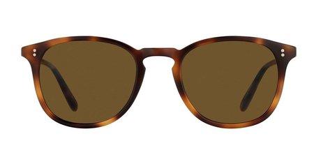 Garrett Leight Kinney 47 eyewear - brown