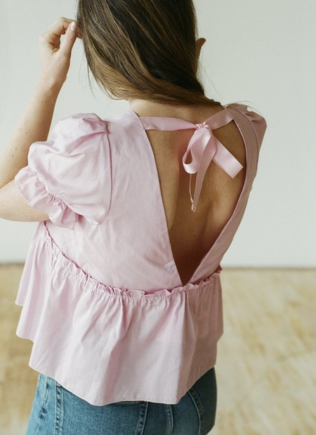 Aurore van Milhem Cloe Top - Pink