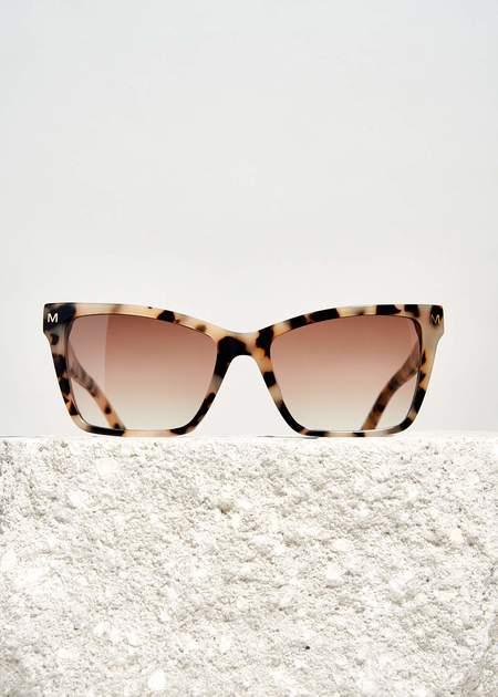 Machete Sally Sunglasses - Blonde Tortoise