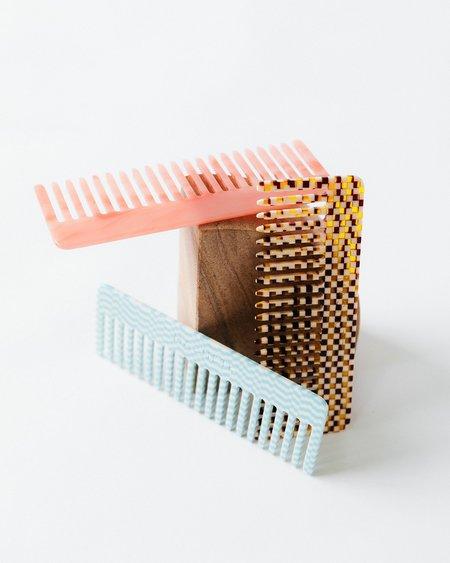Machete No.2 Comb - Blue Checkers