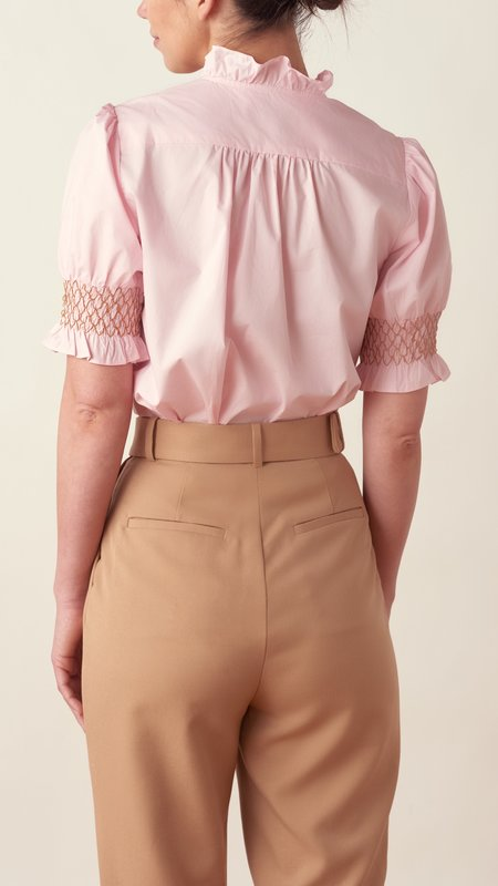 The Shirt by Rochelle Behrens The Nicole Shirt - pink