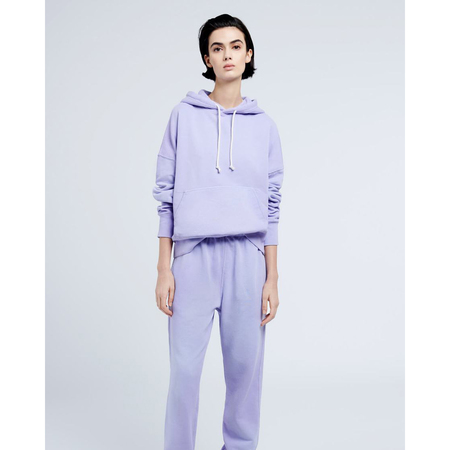 Re/Done Classic Hoodie sweater - Faded Orchid