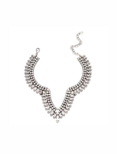 Dannijo Vicki Necklace - Silver