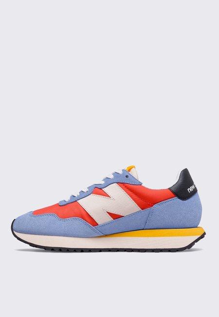 New Balance Womens 237 sneakers - sky blue/orange