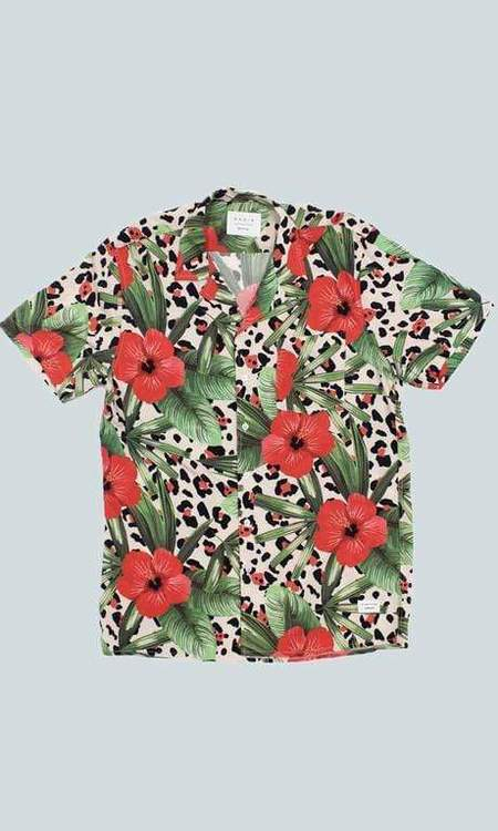 Duvin Design Leo Floral Button Up Shirt