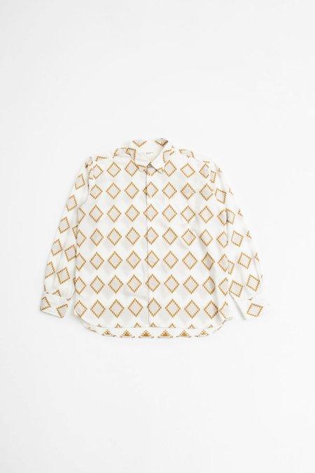 Universal Works Humber shirt - venice cotton gold